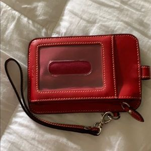 Lodis Wristlet Card case with phone pocket